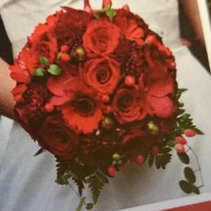 Haustleg brudebukett